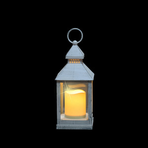 lantern led white amber light bo - l10,5xw10,5xh24dcm