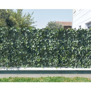 Siepe Verdecor a pannelli quadrati, foglie tipo edera