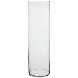 VASE DALIO GLASS H90D20 TRANSPARENT