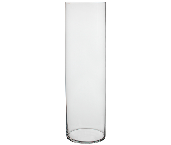 VASE DALIO GLASS H90D20 TRANSPARENT