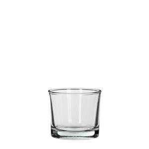 Kenny cylinder glass transparent - h8xd9cm