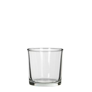 Kenny cylinder glass transparent - h10xd10cm