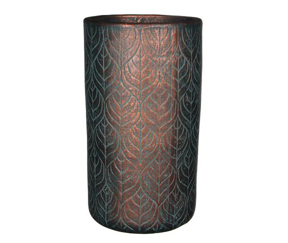 philo pot round copper - h39xd21,5cm