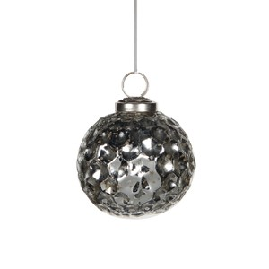 ornament ball silver - d7,5cm