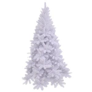 tuscan x-mas tree white tips 392 - h155xd99cm