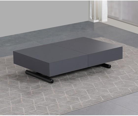 Tavolo trasformabile grigio
