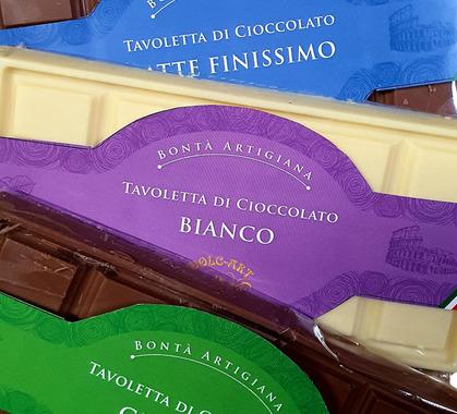 2010 6 1 2 3 set tavolette cioccolato 100 gr