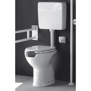 Sedile Wc Copriwater per modello Disabile aperto marca Alfa Ceramiche