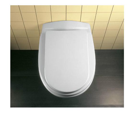 Sedile wc copriwater per modello ala bianco euro marca for Ideal standard ala
