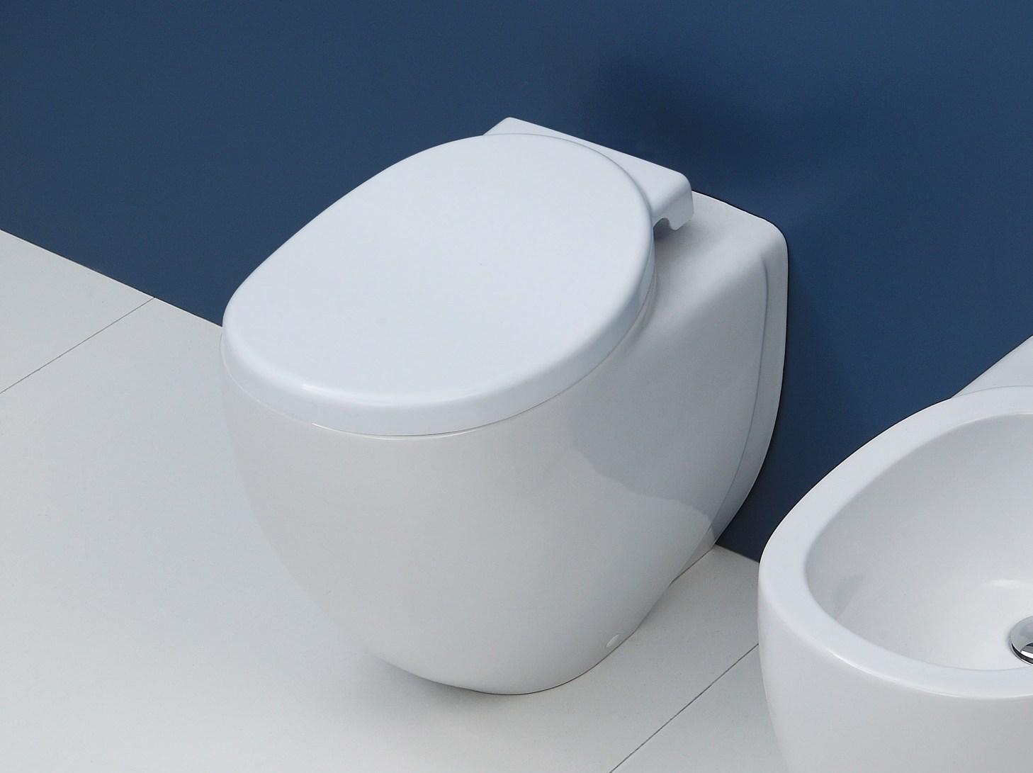 Ceramica Flaminia Serie Io.Sedile Wc Copriwater Per Modello Io Marca Flaminia