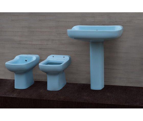 Sedile wc copriwater per modello conca azzurro sussurrato for Conca ideal standard