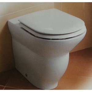 Sedile Wc Copriwater per modello Kurokawa marca Absolute by Ideal Standard