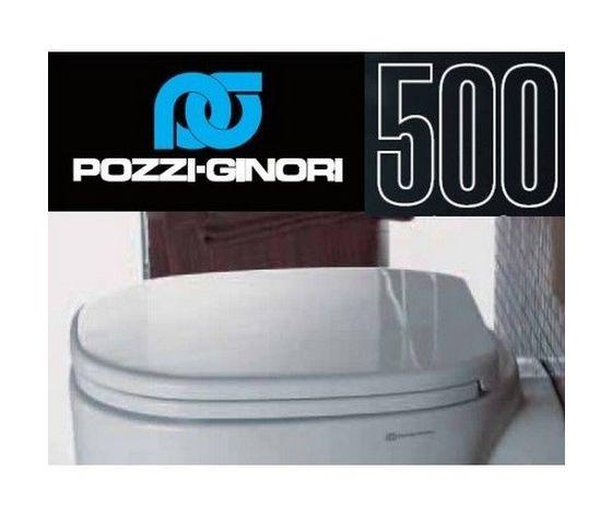 Sedile Wc Pozzi Ginori 500.Sedile Wc Copriwater Per Modello 500 Cinquecento Marca Pozzi