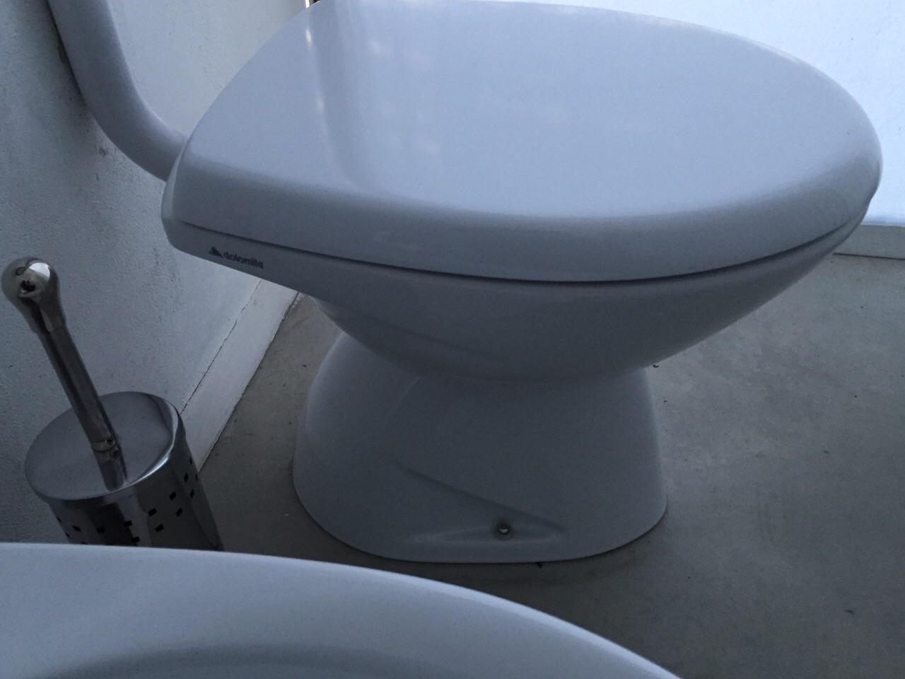 Sedile Wc Dolomite Perla.Sedile Wc Copriwater Per Modello Perla New Marca Dolomite Originale