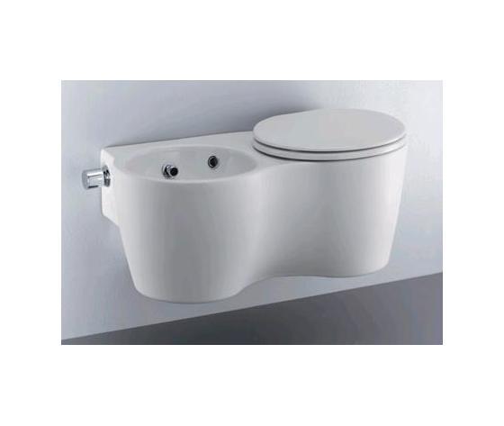 Sedile wc copriwater per modello small twin marca ideal for Modelli water ideal standard