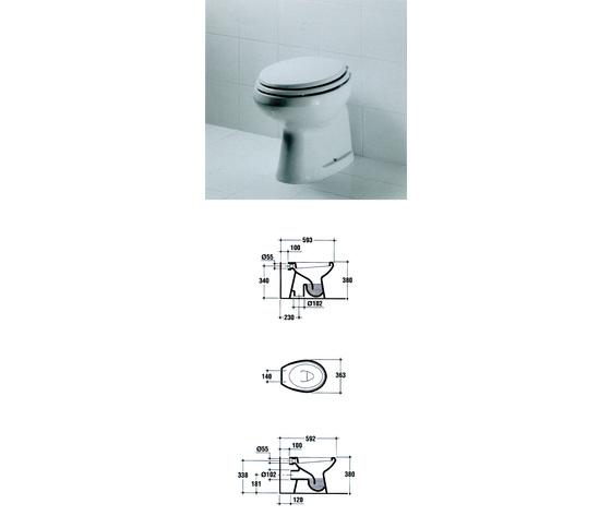 Sedile wc copriwater per modello ellisse pi marca ideal for Copriwater ellisse ideal standard