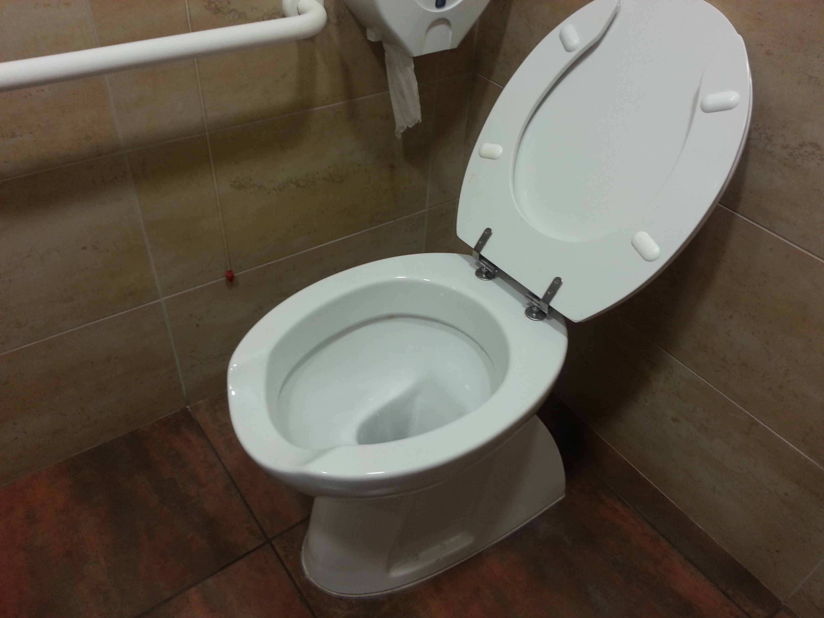 Sedili Wc Per Disabili : Sedile wc copriwater per modello maia disabili marca dolomite u20ac 59