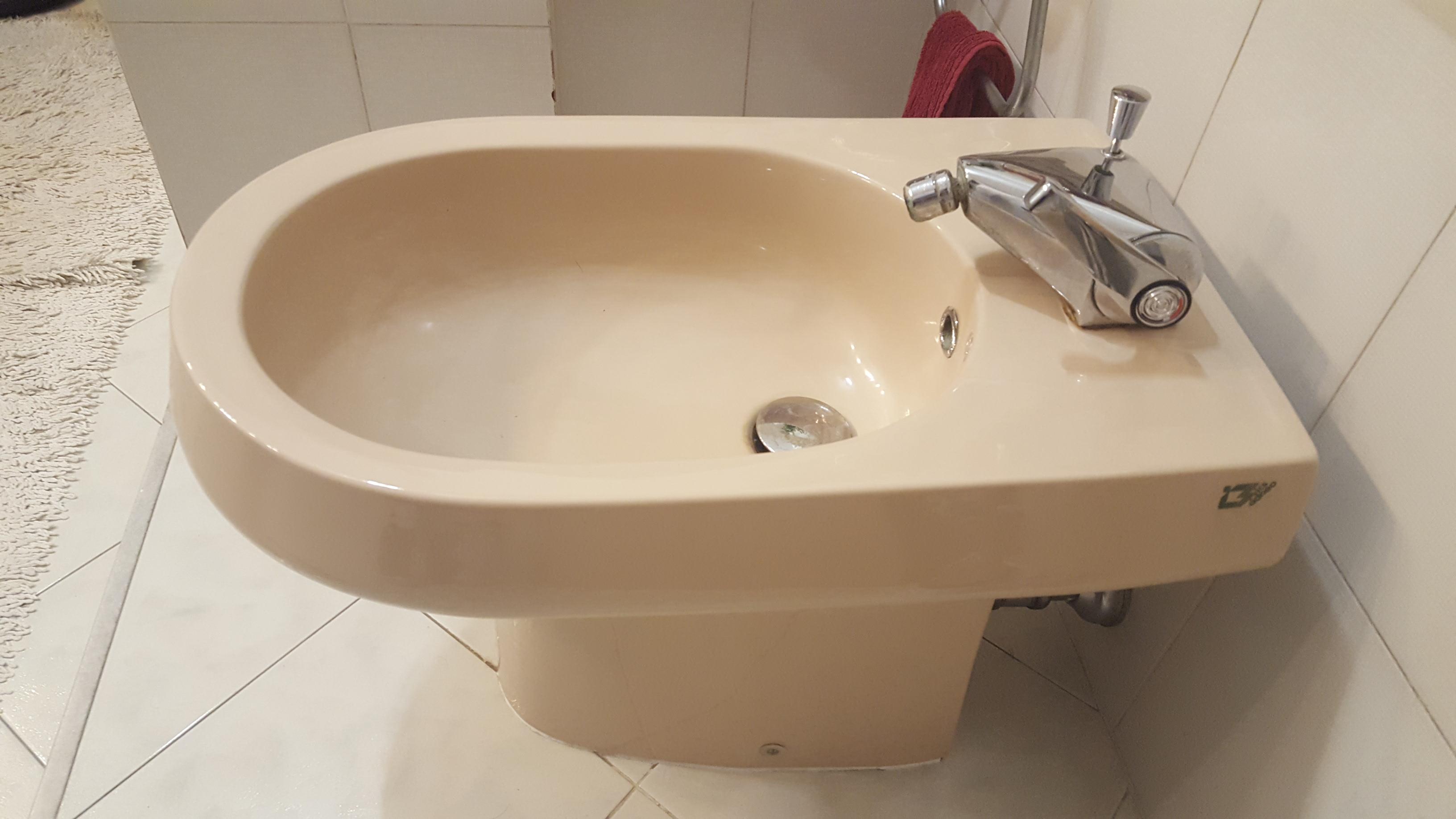 Sedile wc copriwater per modello carena marca cidneo color - Sanitari bagno beige ...