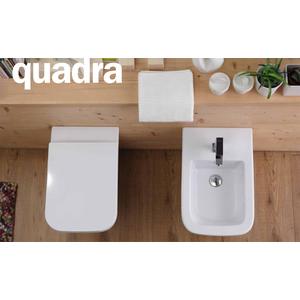 Sedile Wc Copriwater per modello Quadra SOFT CLOSE marca Esedra Sdr Ceramiche