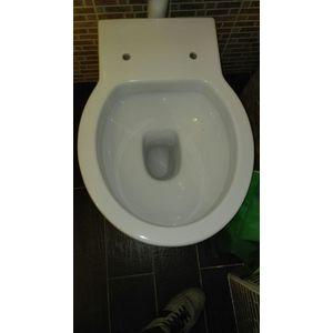 Sedile Wc Copriwater per modello Easy Bath legno marca Ceramica Cielo
