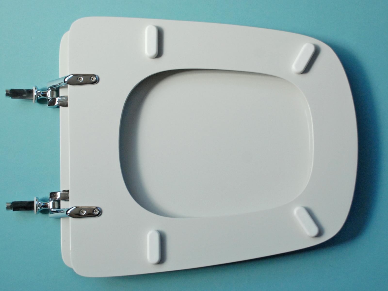 Sedili Wc Per Disabili : Sedile wc copriwater per modello aero bianco ideal marca ideal