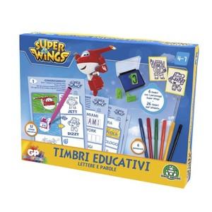 TIMBRI EDUCATIVI  LETTERE E PAROLE SUPERWINGS