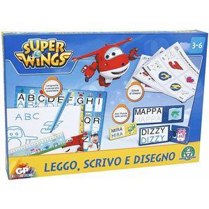 SUPER WINGS LEGGO SCRIVO E DISEGNO