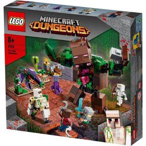 LEGO MINECRAFT 21176 L'ABOMINIO DELLA GIUNGLA