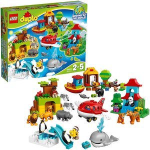 LEGO DUPLO 10805 VIAGGIO INTORNO AL MONDO