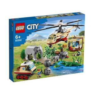 LEGO CITY 60302 OPERAZIONE SOCCORSO ANIMALI NOVITA' GIUGNO