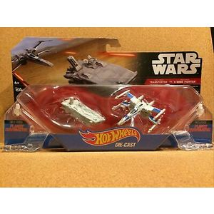 STAR WARS NAVICELLE - TRANSPORTER E X-WING FIGHTER