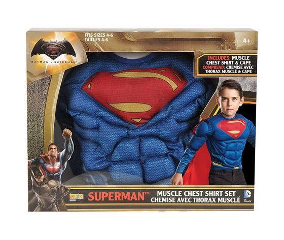 Superman muscoli maglietta