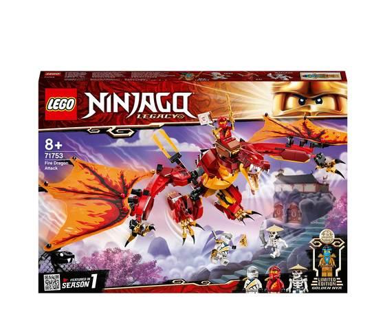 Lego 71753 l'attacco del dragone di fuoco 996