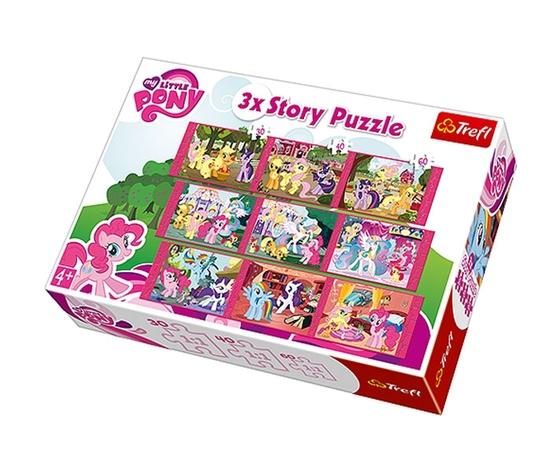 Puzzle 3 x story my little pony