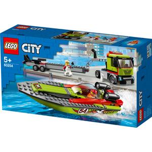 LEGO CITY 60254 TRASPORTATORE DI MOTOSCAFI