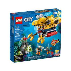 LEGO CITY 60264 SOTTOMARINO DA ESPOLRAZIONE