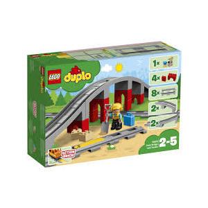 LEGO DUPLO PONTE E BINARI 10872