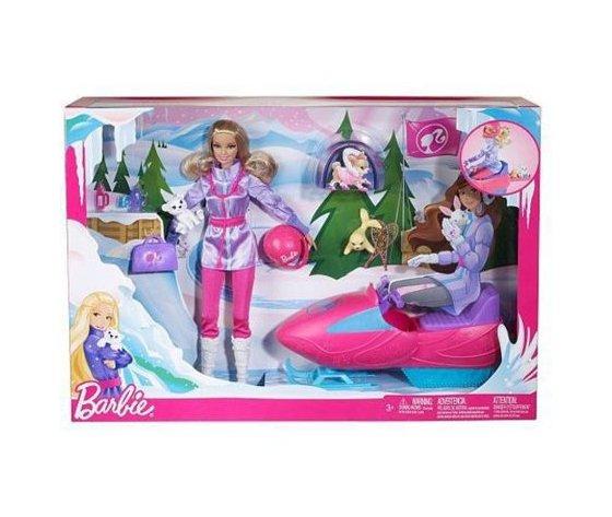 Barbie motoslitta