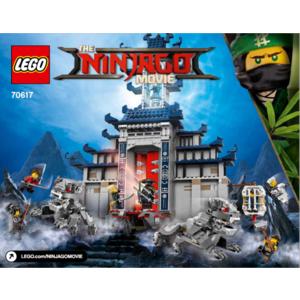 LEGO 70617 TEMPIO DELLE ARMI FINALI