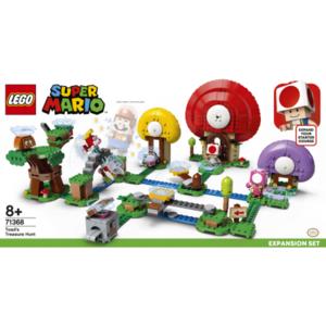 SUPER MARIO LEGO 71368 CACCIA AL TESORO DI TOAD'S