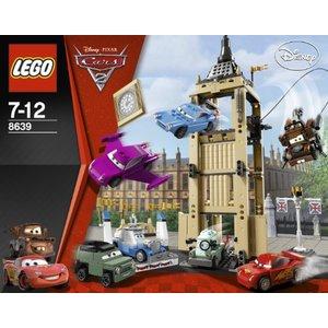 LEGO 8639 CARS 2 L'EVASIONE DI BIG BENTLEY