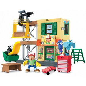 FISHER PRICE OFFICINA DI  HANDY MANNY
