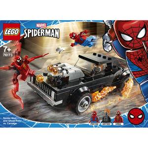 LEGO MARVEL 76173 SPIDERMAN E GHOST RIDER