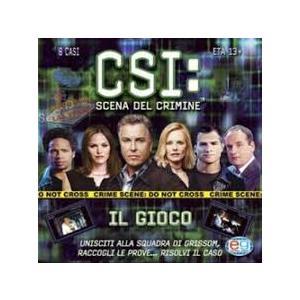C S I: SCENA DEL CRIMINE tm GIOCO IN SCATOLA