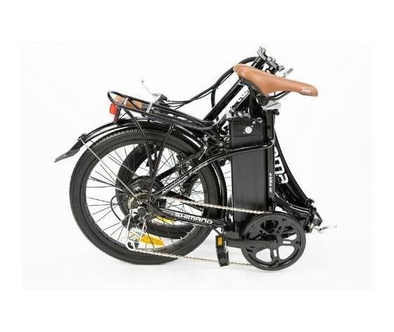 Bicicletta pieghevole elettrica shimano litio 2323857z1 180105106