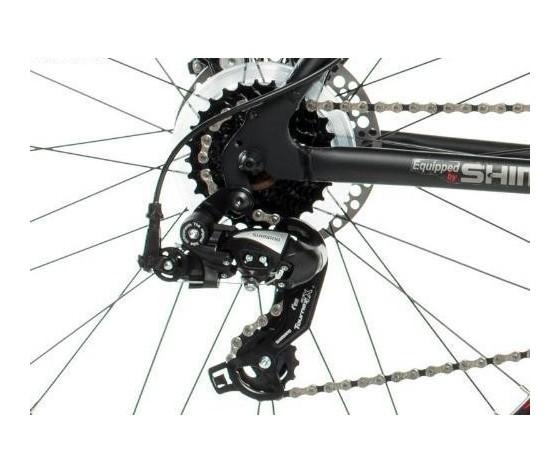 Bicicletta montagna 26 in alluminio shimano 2xdisco e sosp 2316071z1 180637106