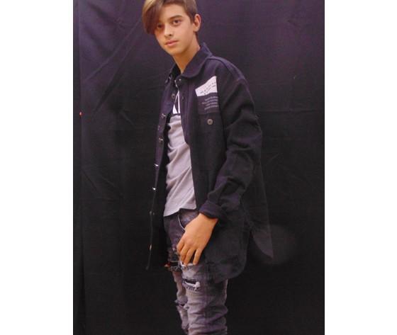 Giubbino jeans baggy