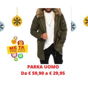 PARKA UOMO CON PELLICCIA