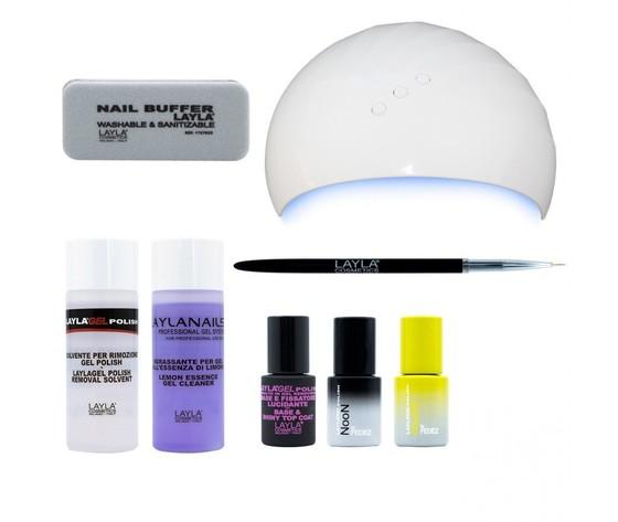 Layla noon by fedez starter kit gel polish semipermanente 1