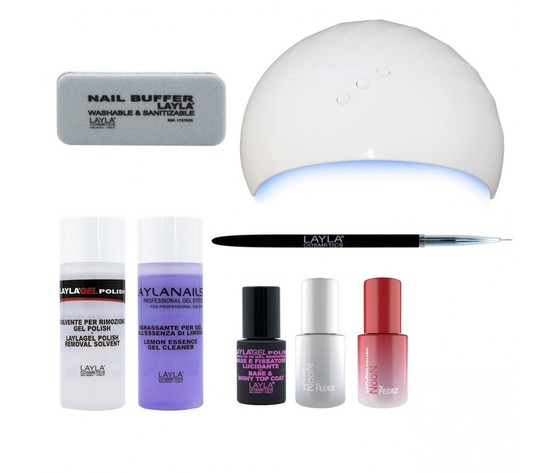 Layla noon by fedez starter kit gel polish semipermanente 2
